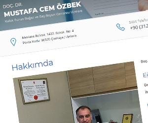 Doç. Dr. Mustafa Cem Özbek